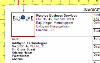 How to put Logo in Tally Invoice