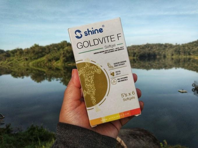 Kekal Bertenaga Sepanjang Hari Dengan Shine Goldvite F Softgel Capsule