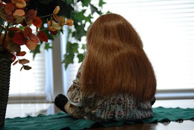 fix american girl doll hair