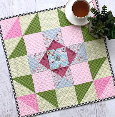 spring table quilt