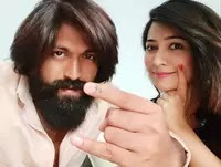 yash with her wife