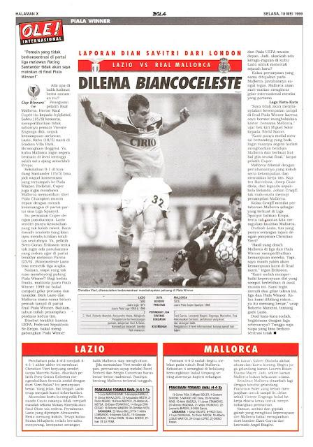 WINNER CUP LAZIO VS REAL MALLORCA DILEMA BIANCOCELESTE