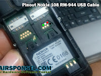 Pinout Nokia 108 RM-944 USB Cable