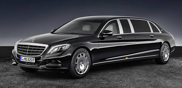 2018 Mercedes‑Maybach S 600 Pullman Guard Luxury Class Review