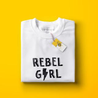 Camiseta Feminista Rebel Girl
