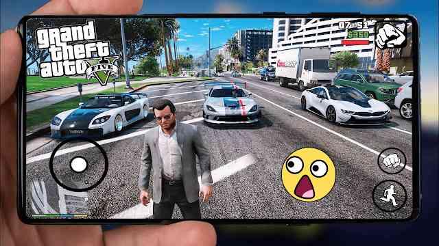 تحميل لعبة GTA V 2020 النسخة النيو للاندرويد اخر اصدار