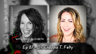 Conversations with Anne Elizabeth Podcast featuring Registered Dietitian Dr. Claudia T. Felty