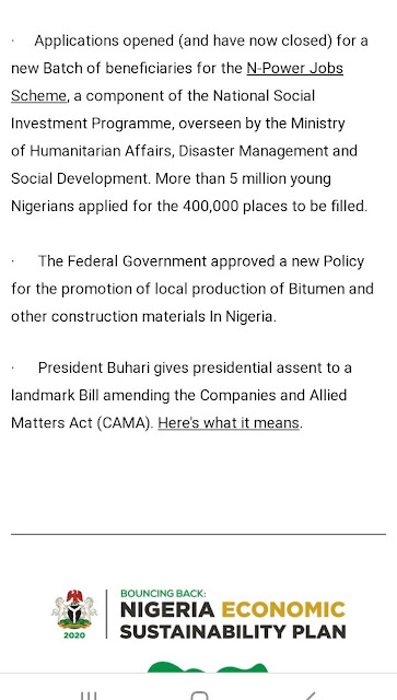 F2305EA6 4288 4EC2 9848 2993630ABB00 - Buhari lists CAMA, 774,000 jobs, NYSC allowance, others as second-term achievements [Full list]
