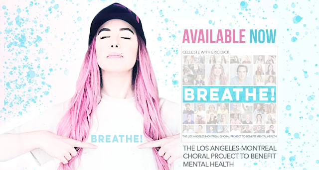 140 Singers Bring Awareness for World Mental Health Day on October 10th in 'Breathe!'