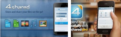 4shared Pro V3.57.0 APK  Android Free Download