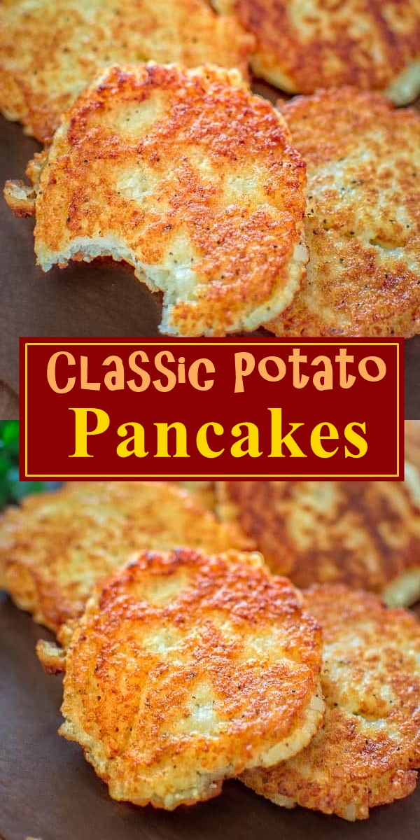 Classic Potato Pancakes #breakfastideas