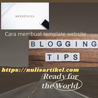 Cara membuat template website