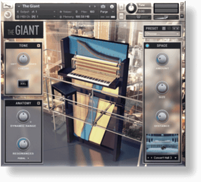 Native Instruments - The Giant Piano Full version