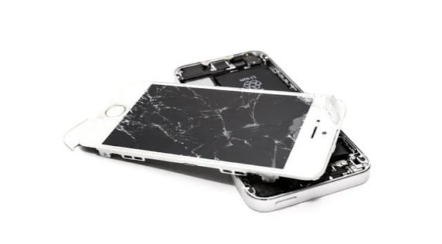Cara Melepas Atau Membongkar Layar LCD Iphone 5S