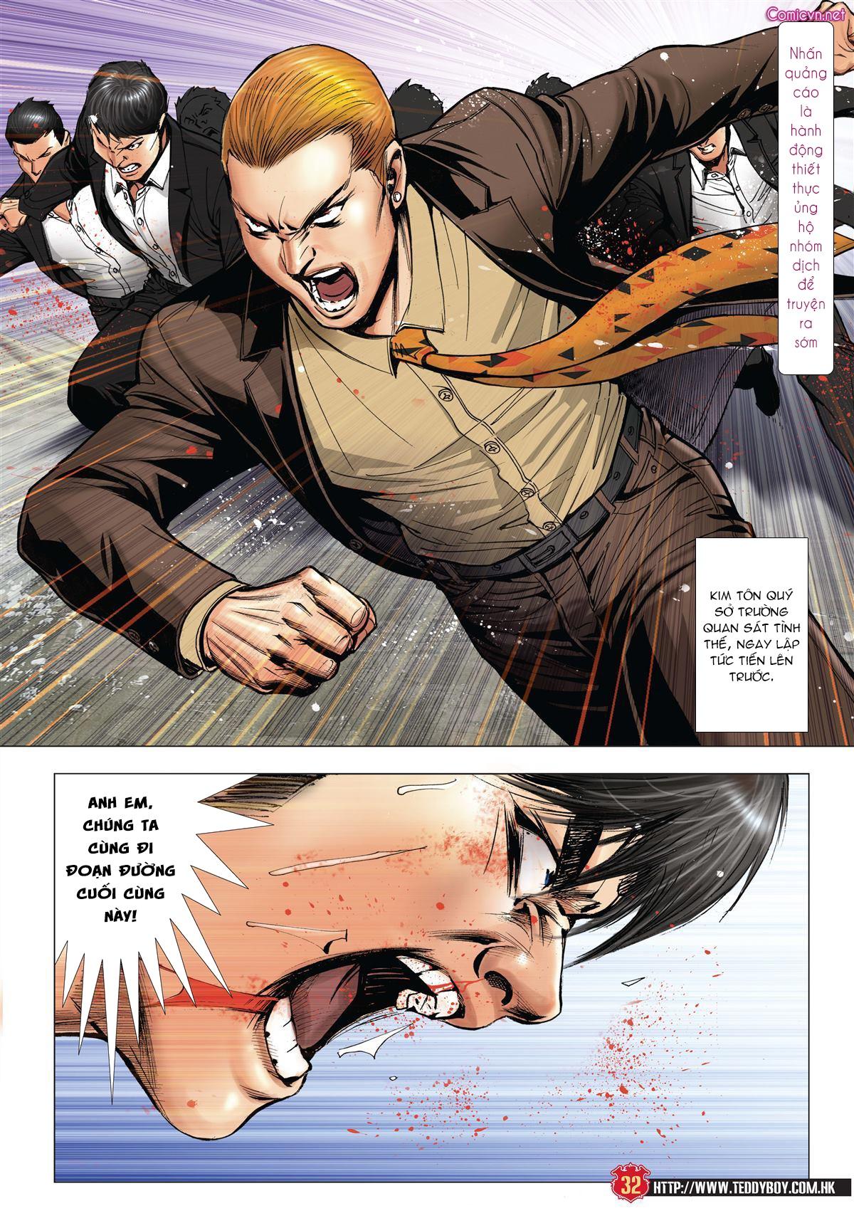 Người Trong Giang Hồ chapter 1997: triệu oánh vs đinh dao trang 30