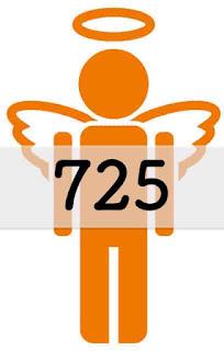 エンジェルナンバー 725