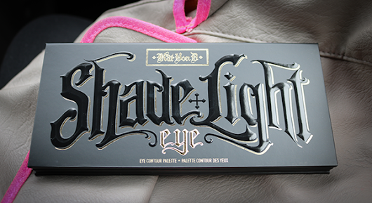 Kat Von D Shade and Light Eye Palette (swatches)  | Leslie Loves Makeup!