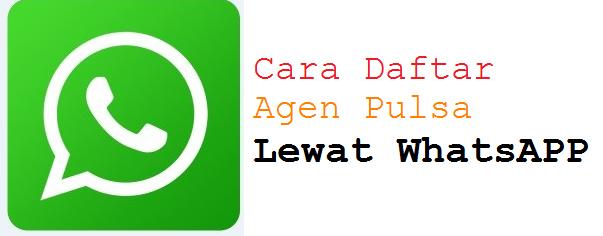 Cara Baru Daftar Agen Pulsa Lewat Whatsapp (WA)