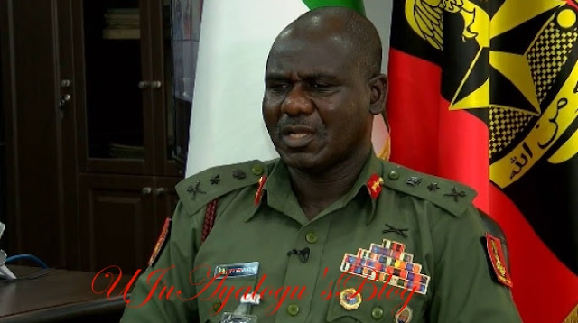Buratai threatens to deal with soldiers hobnobbing with politicians