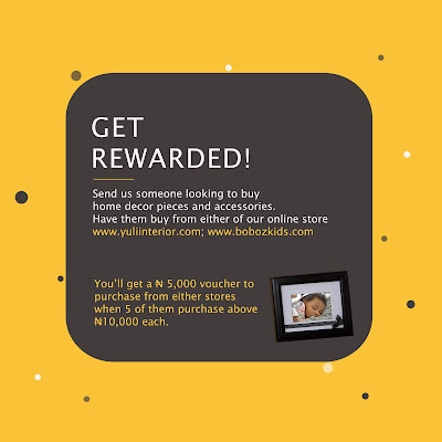 Yuli Interior Referral Reward Program