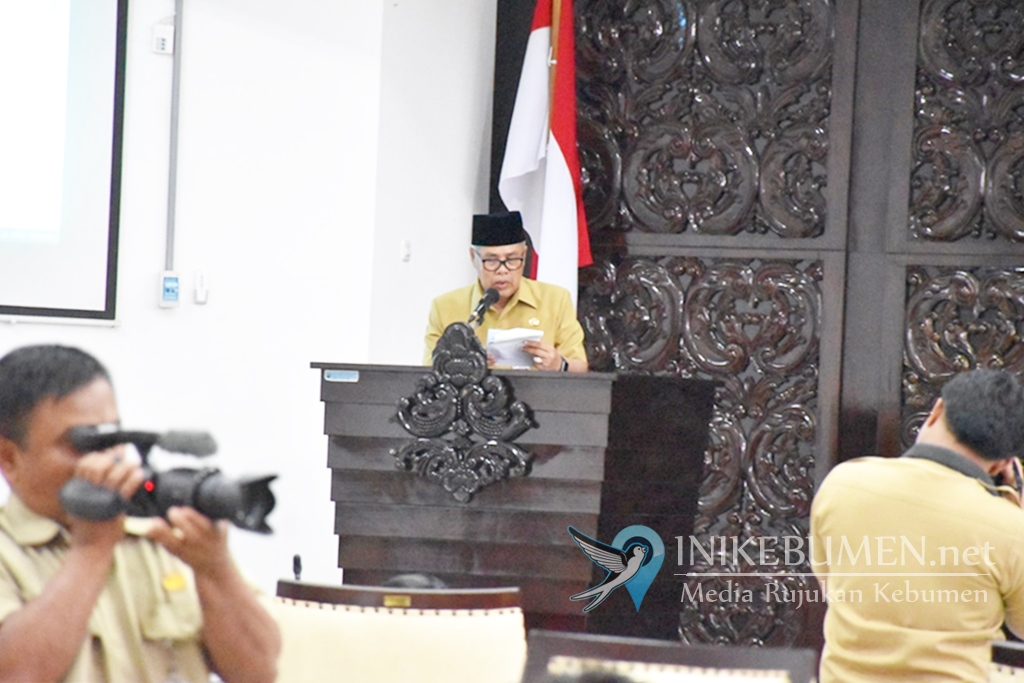 Raperda Pembentukan Badan Kesatuan Bangsa dan Politik Resmi Diajukan ke DPRD Kebumen