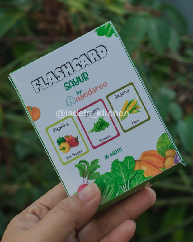 Flash Card Sayuran