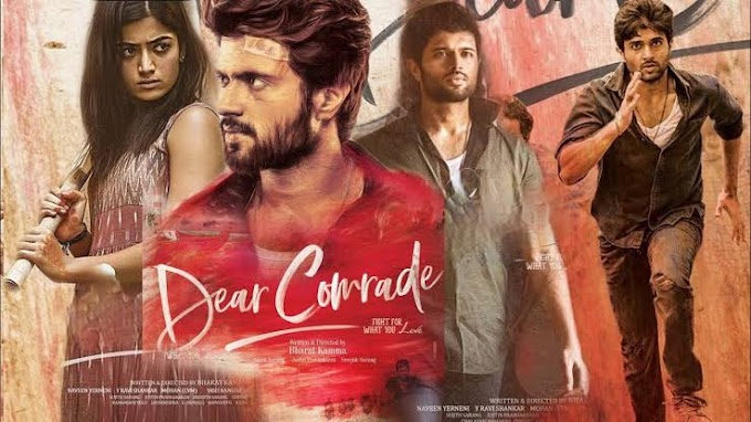 Dear Comrade Hindi Dubbed Full Movie Download filmyzilla