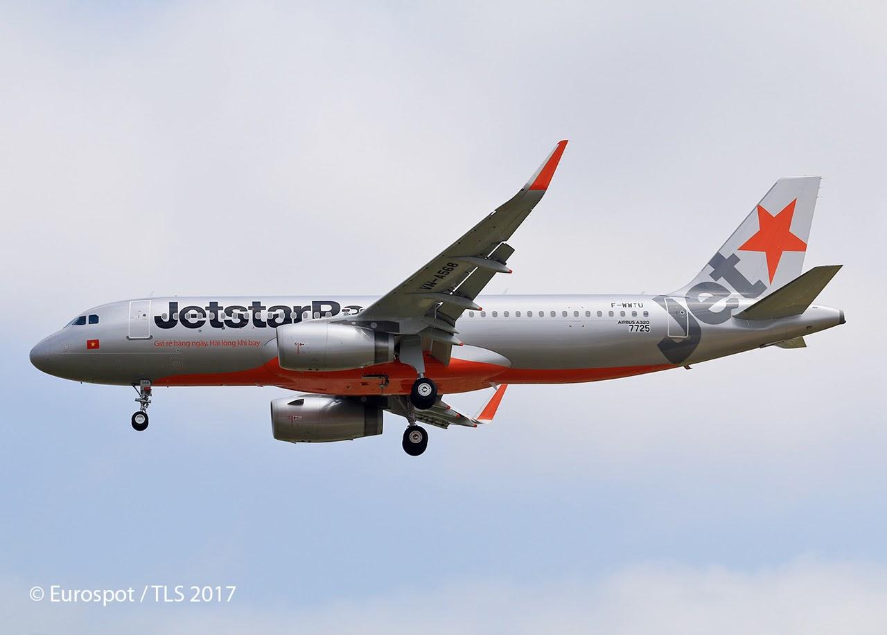 Airbus hamburg finkenwerder news a320 232sl jetstar pacific a320 232sl jetstar pacific airlines f wwtu vn a568 msn 7725 sciox Images