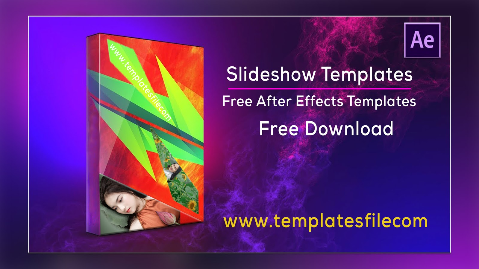Free After Effects Slideshow Templates Free Download - Modern Promo Slideshow Free Download
