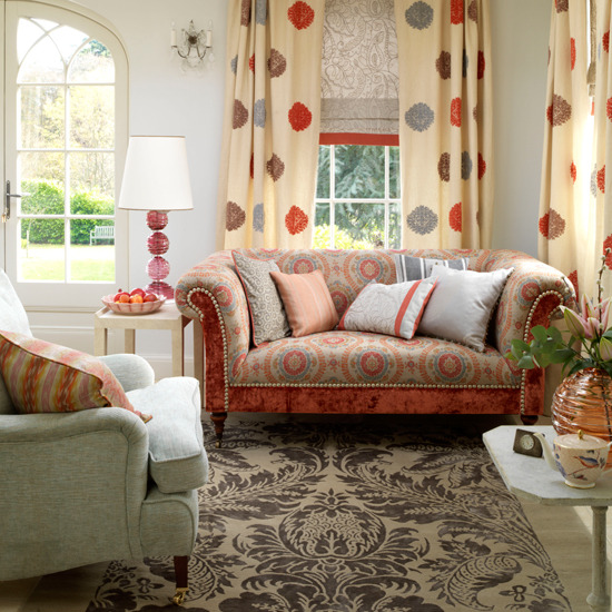 Country Chic Living Room: New Home Interior Design: Collection Of Country Living