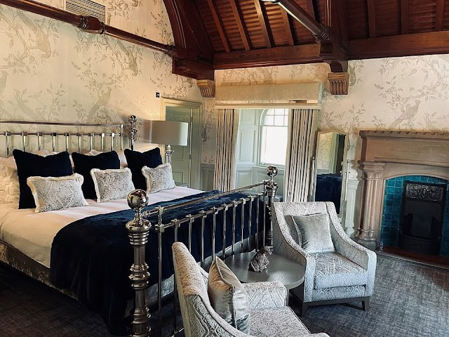 An old hotel with a bed worth nearly 14.000 USD