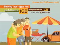 Banglalink 2 GB internet only tk 99 friendship day offer