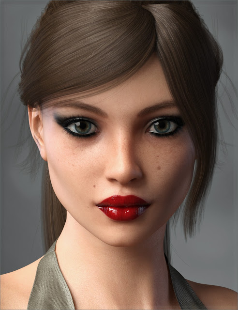 FWSA Nancy HD for Genesis 3 Female