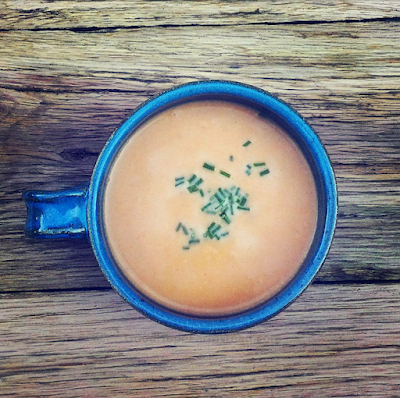 Sweet Potato and Andouille Soup