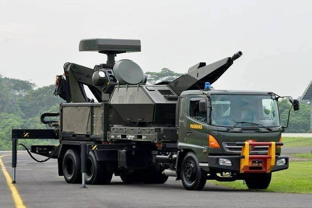 Sistem pertahanan udara Oerlikon Skyshield MK-2 TNI AU