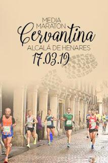 Atletismo Alcalá de Henares Medio Maratón Cervantina