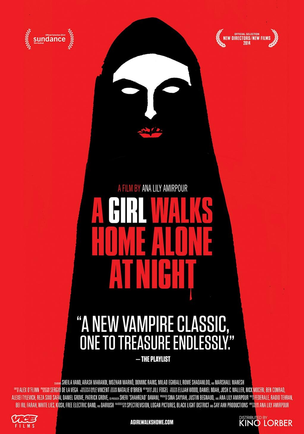 "Movie Review: ""A Girl Walks Home Alone At Night"" (2014)"