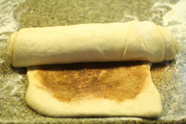 Pan con remolino de canela / Cinnamon swirl bread