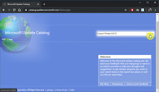 Cara Install Driver Printer dari Windows Update Catalog di Windows 10