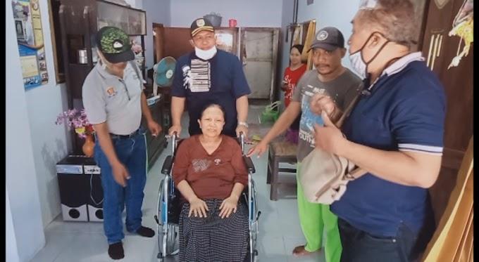 FWLM Jember  Peduli ,Bhakti Sosial Pembangunan Musholla Serta Kursi Roda Untuk Warga Kaliwates .