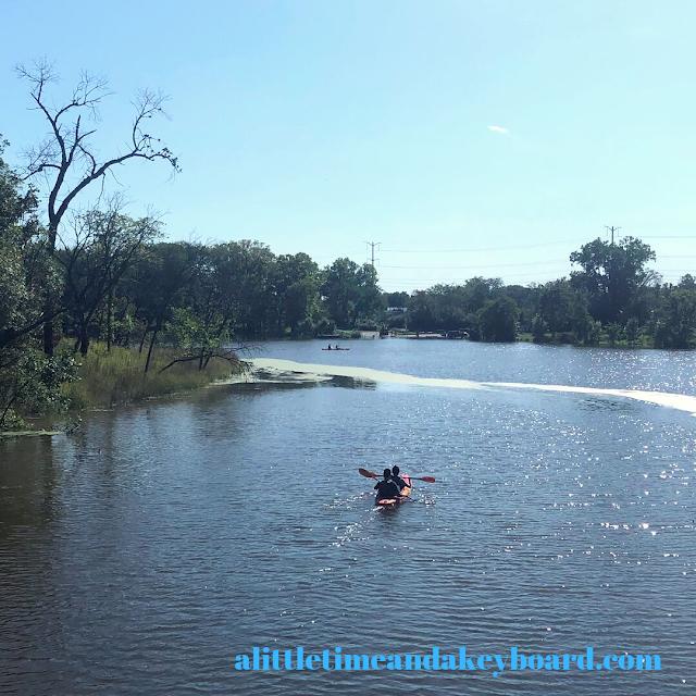Kayaking is a favorite activity at Skokie Lagoons.