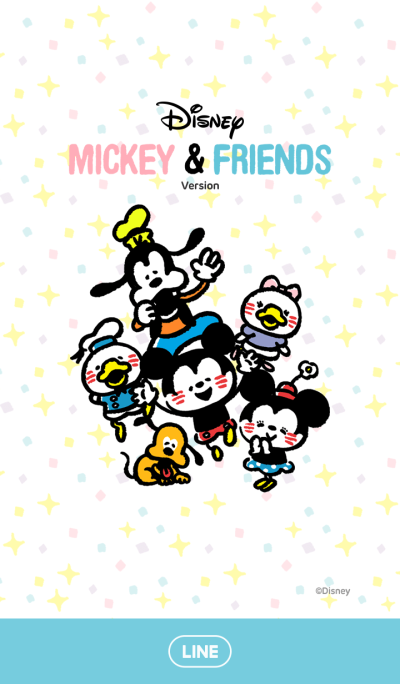 Kanahei手绘♪ Mickey Mouse & Friends