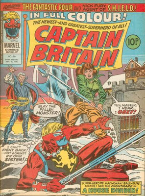 Marvel UK, Captain Britain #10
