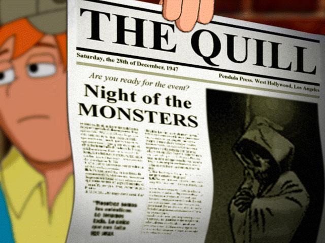 Hollywood Monsters Captura de pantalla 2