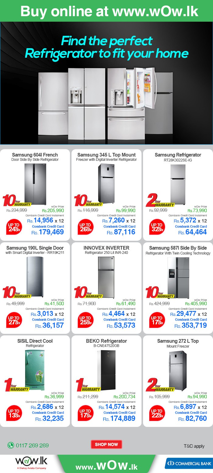 http://www.wow.lk/mall/buyonline/home-appliances-refrigerators/?Ns=sku.inventoryAvailability%7C0&utm_source=dailymail&utm_medium=newsletter&utm_campaign=refrigerators