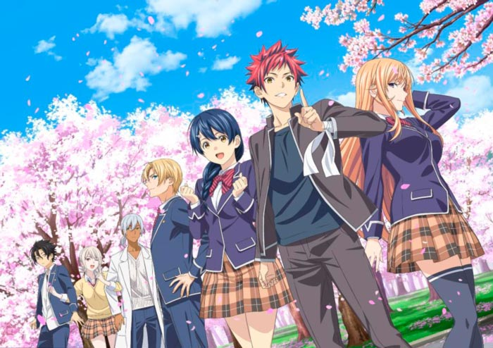 Food Wars! Shokugeki no Souma anime - temporada 5