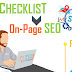 On-Page SEO Checklist (2019 Update)