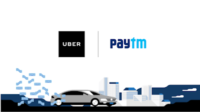 Uber - Pay With Paytm & Get 25% Cashback on Rides To & From Airport
