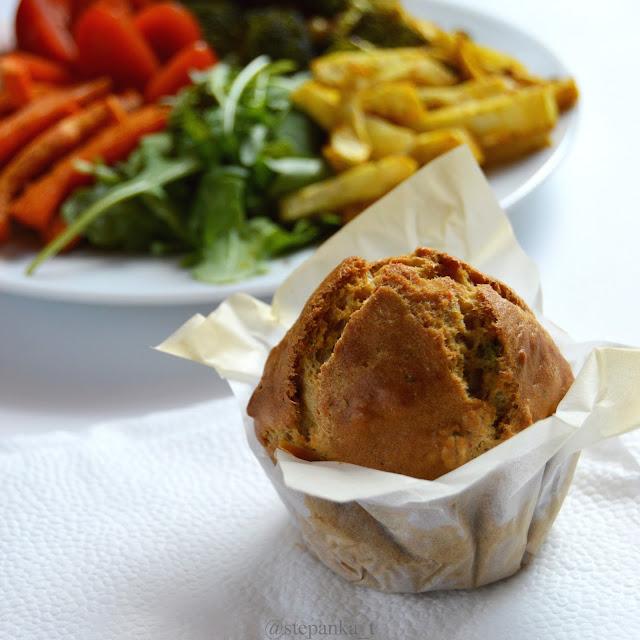 slaný muffin