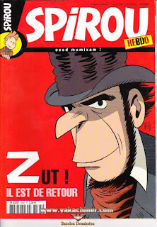 Spirou Hebdo, Poster Gaston partie 2, numéro 3595, année 2007